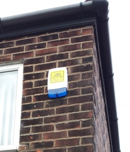 Alarm Bell Box On A Wall
