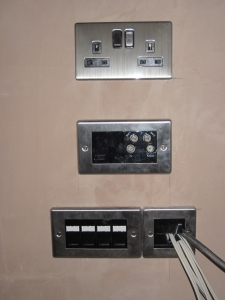 AV Installation Cover Plates