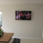 Plain Wall Mounted TV