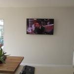 Plain Wall Mounted TV