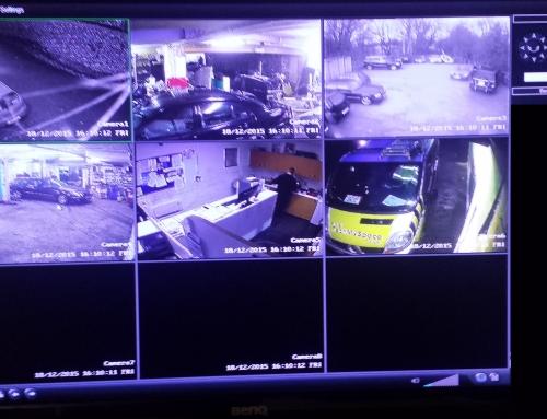 Analogue CCTV a year on.