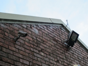 CCTV and LED Floodlight