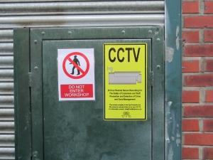 CCTV Signage Large