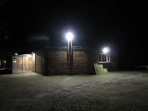 CCTV and LED Nightime